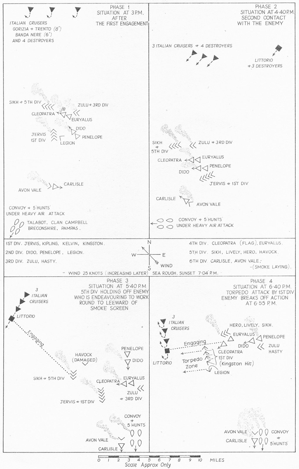 Associate Product LIBYA. African Campaigns. 2nd battle of Sirte 22nd March 1942 1956 old map
