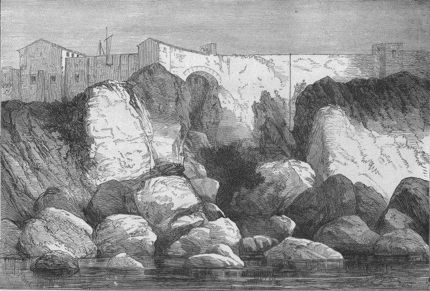 Associate Product FRANCE. Marshal Bazaine's escape from Île Sainte-Marguerite, antique print, 1874