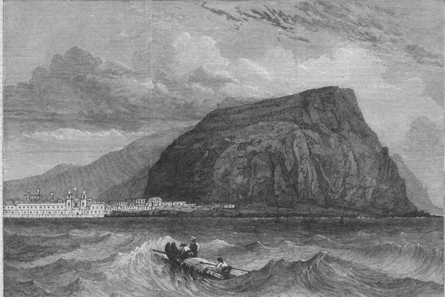Associate Product CHILE. Peru Earthquake 1868. Arica, in Peru, visited by the earthquake, 1868