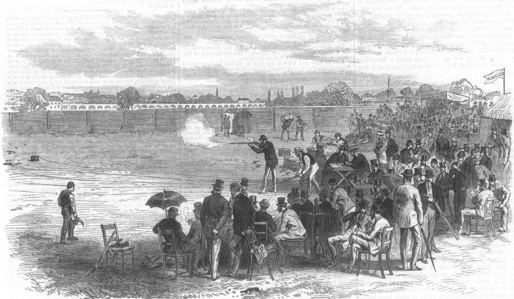 Associate Product SHEPHERD'S BUSH. The Gun Club competing for the Challenge Vase. London, 1867