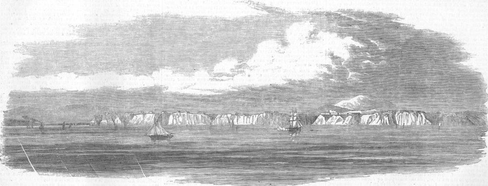 Associate Product RUSSIA. Anapa, on the Coast of Circassia, antique print, 1854