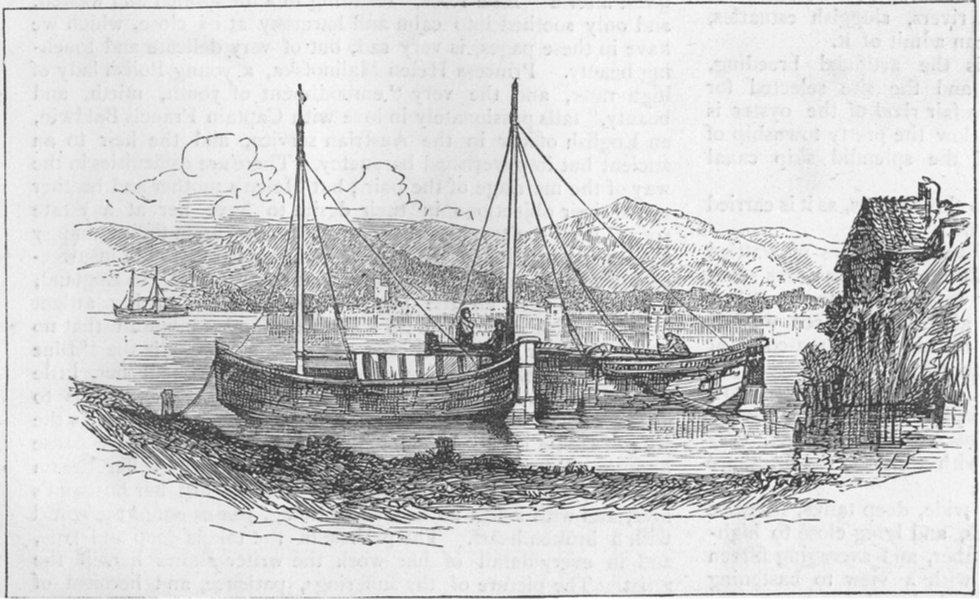 Associate Product ITALY. Monte Leone, from Castiglione della Pescaja, antique print, 1877