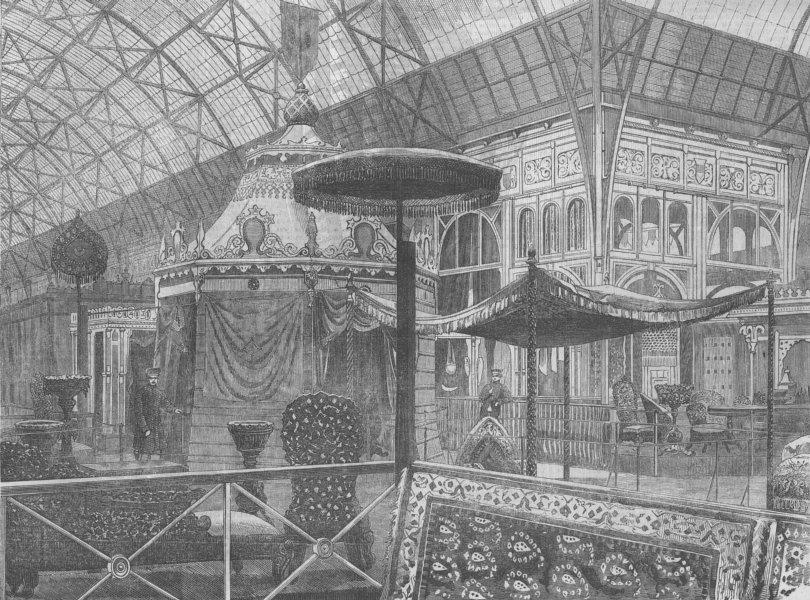 Associate Product FRANCE. Paris Expo. Indian Ct, antique print, 1855