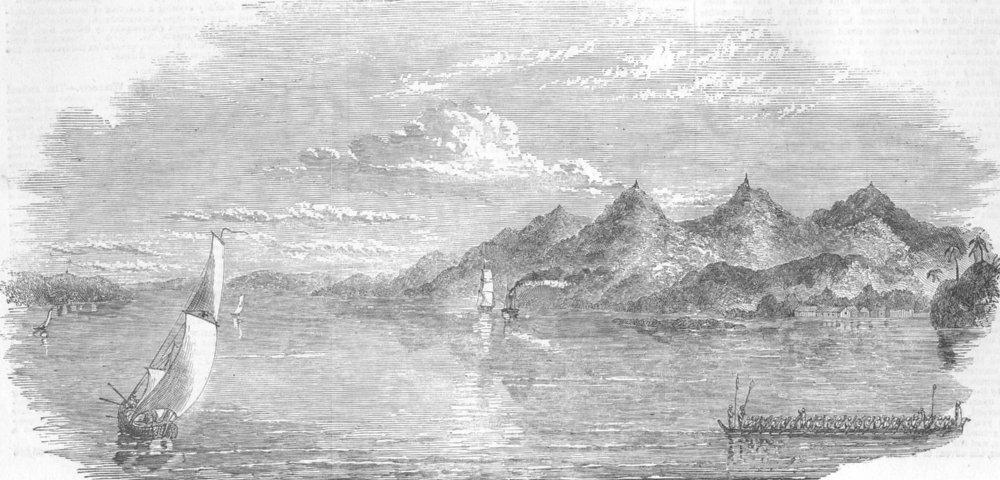 Associate Product BURMA. Yenbenzeik, from Pyay, antique print, 1852