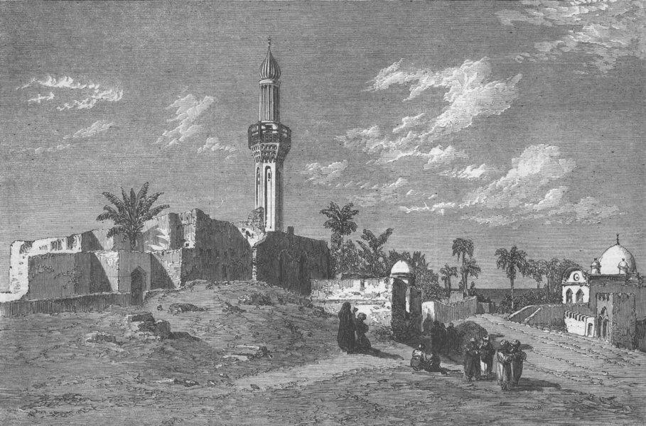 Associate Product EGYPT. Alexandria, antique print, 1862