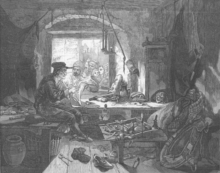 Associate Product FRANCE. Exhibition. Paris, 1848, antique print, 1849