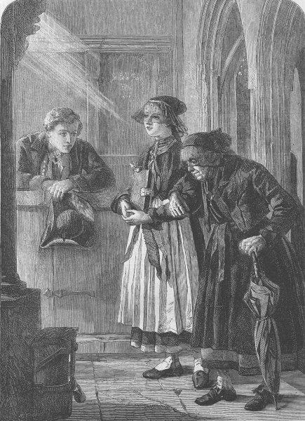 Associate Product GERMANY. Morning, Betzingen, Knetensburg, antique print, 1863
