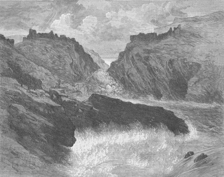 Associate Product LANDSCAPES. Turner Gold Medal Prize Landscape, antique print, 1866