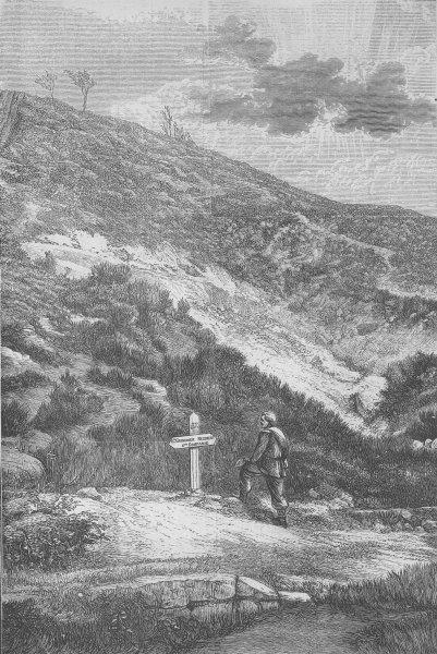 Associate Product FRANCE. Spicheren-battle of Forbach, antique print, 1870