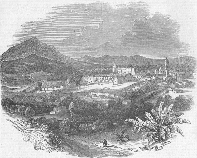 Associate Product MEXICO. Revolution. Jalapa , antique print, 1845