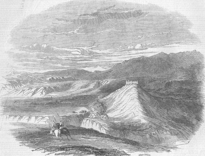 Associate Product PAKISTAN. Punjab. Ribersee Ft , antique print, 1846