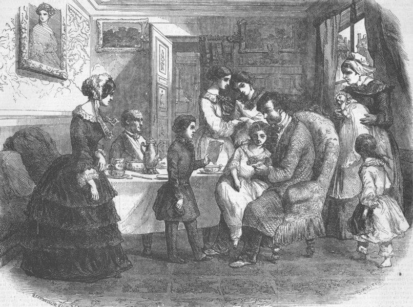 Associate Product FRANCE. Paris Expo. New-Year's gifts, Paris, antique print, 1855