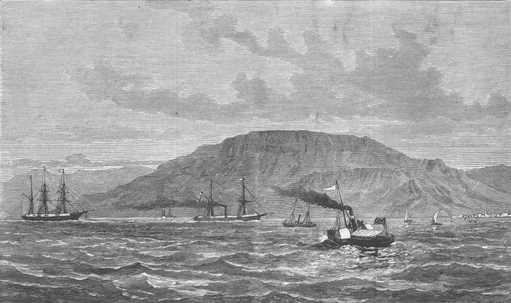 Associate Product INDIA. Suez Canal. 1st detachment of native troops, antique print, 1878