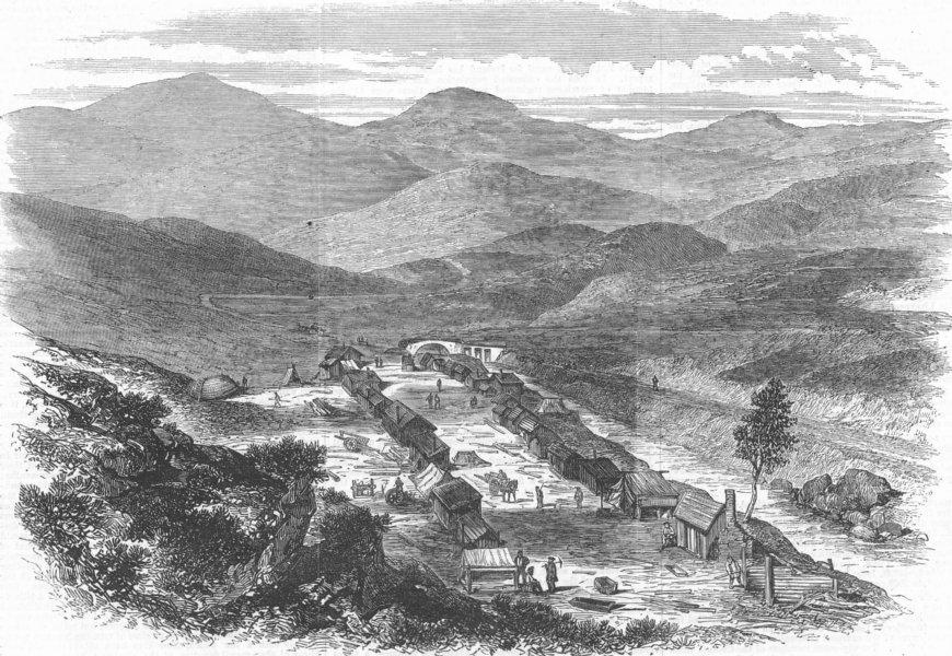 Associate Product SCOTLAND. Baile'n Oir, Kildonan, antique print, 1869
