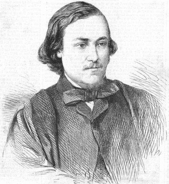 Associate Product WEST INDIES. Lucas Barrett, Geological surveyor, antique print, 1863