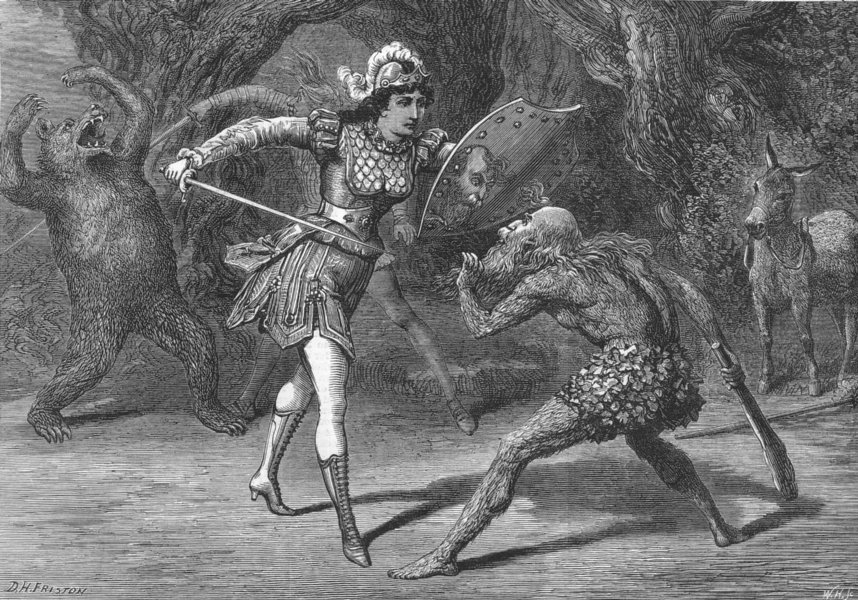 Associate Product LONDON. Pantomime, Gaiety Theatre, antique print, 1878