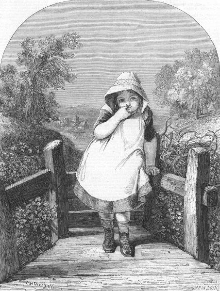 Associate Product CHILDREN. Sly boots, antique print, 1859