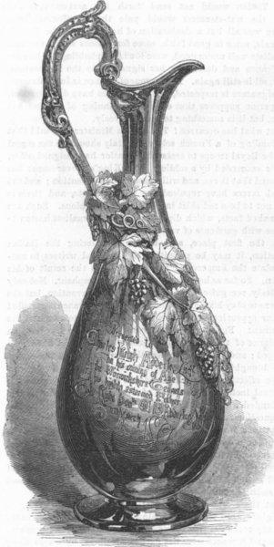 Associate Product JUG. Charles Leigh Alderley, antique print, 1867