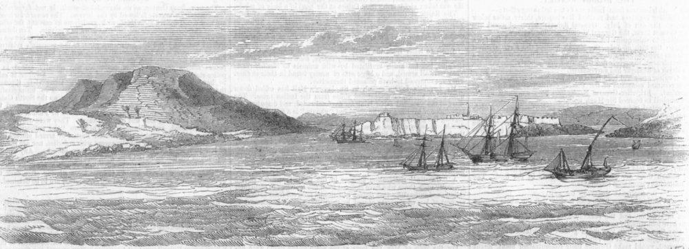 Associate Product GREECE. The Island of Crete, antique print, 1858