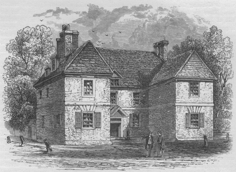 Associate Product PHILADELPHIA. Penn's Residence in Second Street, below Chestnut Street 1882