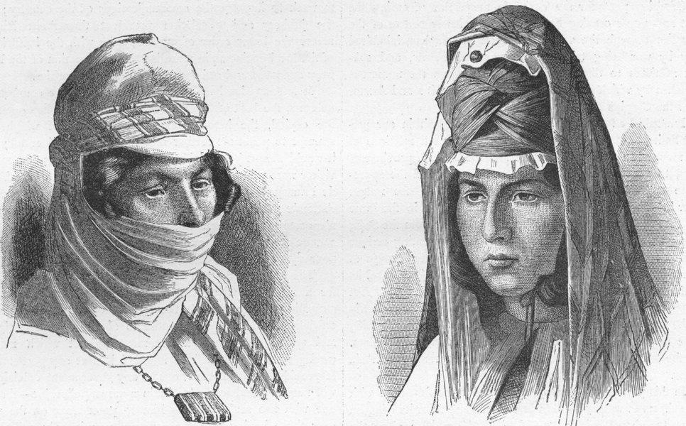 Associate Product EURASIA. Caucasus. Tartar women of Erivan 1880 old antique print picture