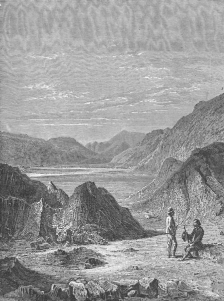 Associate Product INDIA. Himalayas 1880 old antique vintage print picture