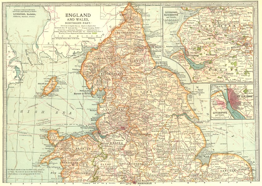 Associate Product ENGLAND WALES N.Shows Civil War of the Roses Barons Wars battlefields 1903 map