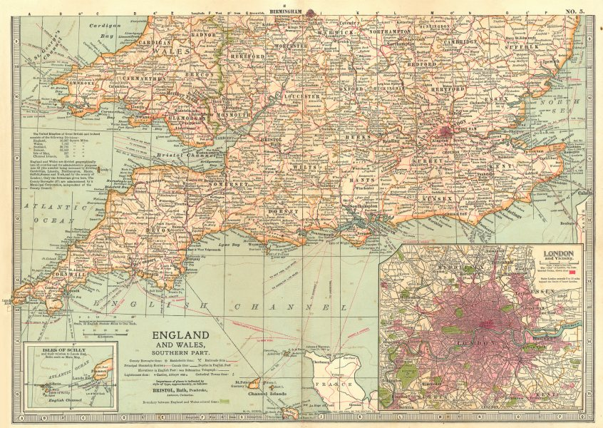 ENGLAND WALES S.Shows Civil War of the Roses Barons Wars battlefields 1903 map