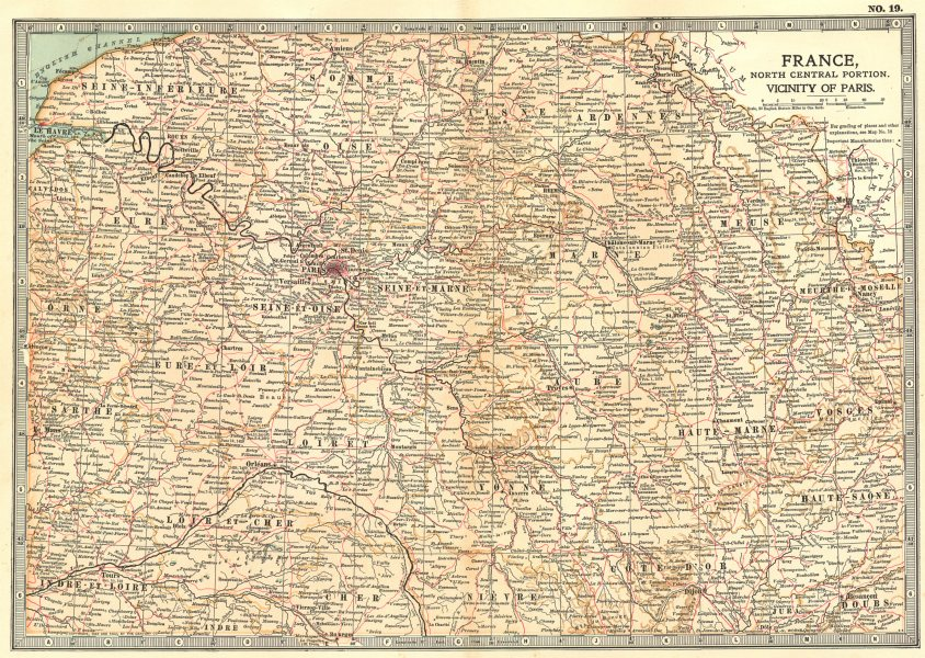 Associate Product N FRANCE.Battles/dates Napoleonic/Revolutionary/Franco-Prussian wars 1903 map