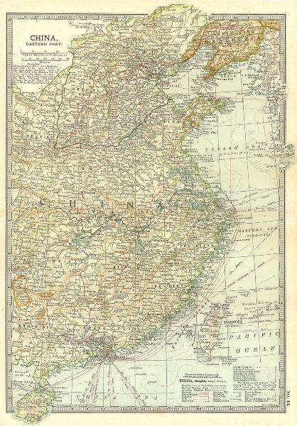 Associate Product CHINA.Wars battlefields Opium 1841-42, Tonkin 1884,Sino-Japanese 1894 1903 map