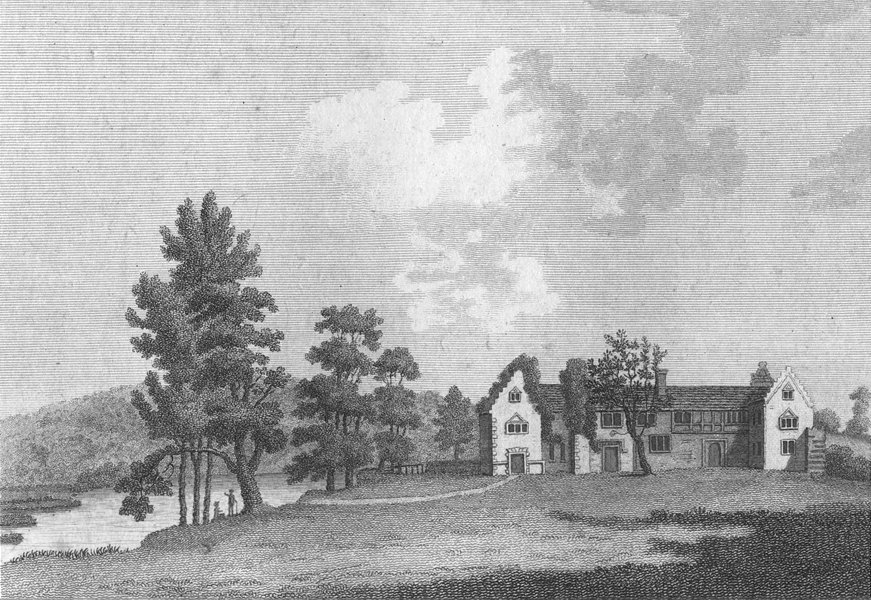 Associate Product BUCKS. Medmenham Abbey Henley, Thames. Grose. Abbeys 1783 old antique print