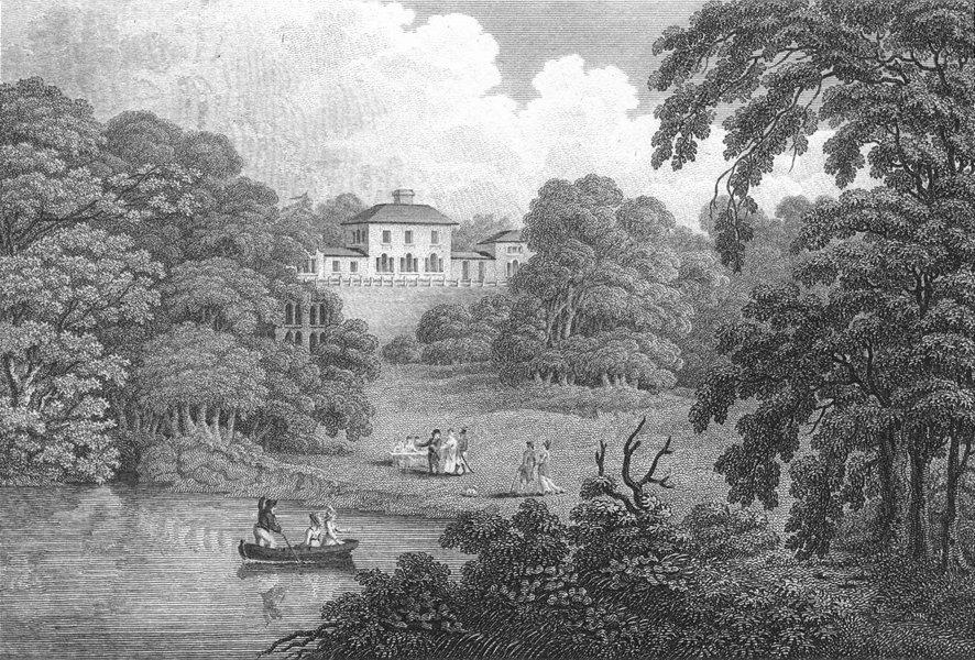 Associate Product SHROPS. Leasowes(Hamilton)Salop. Beauties 1811 old antique print picture