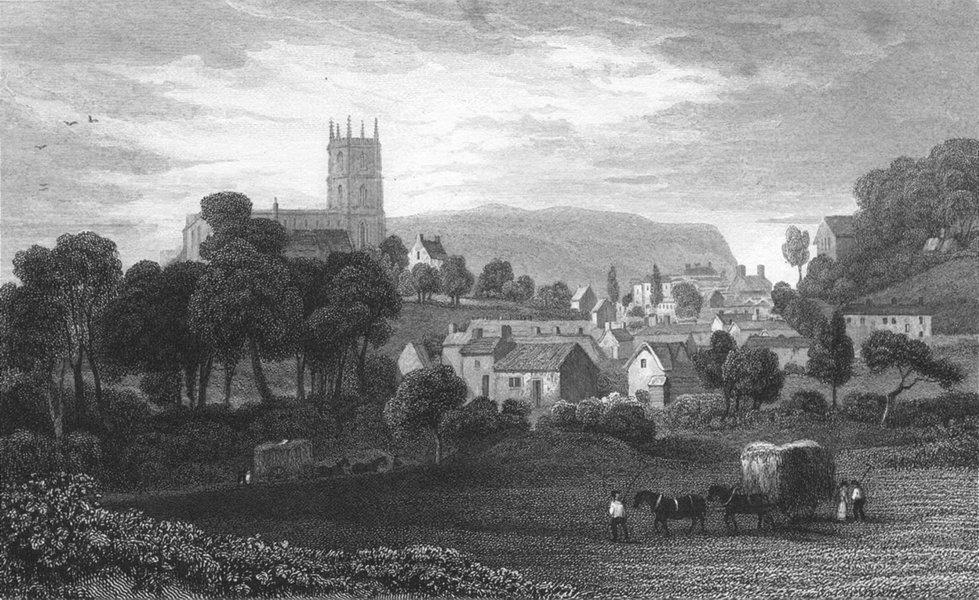 Associate Product WALES. Mold, Flintshire. Gastineau 1831 antique vintage print picture