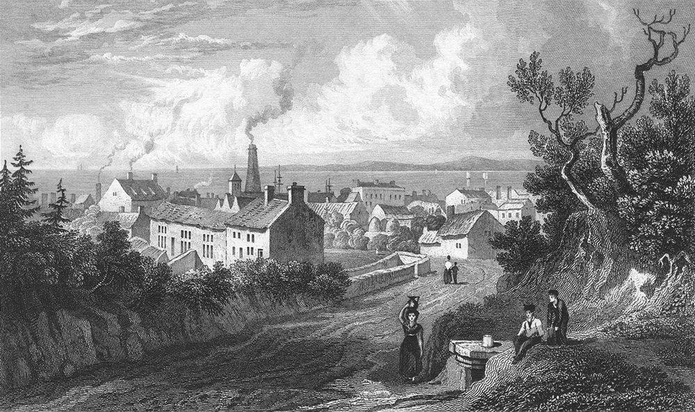 Associate Product WALES. Flint. Gastineau 1831 old antique vintage print picture