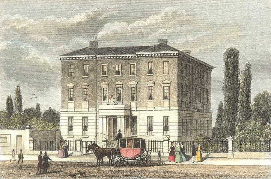 Associate Product WARCS. Queens Hospital, Birmingham. DUGDALE 1835 old antique print picture