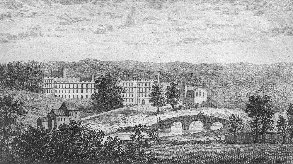 Associate Product DERBYS. Haddon Hall in hire, Duke Rutland. Goadby 1787 old antique print