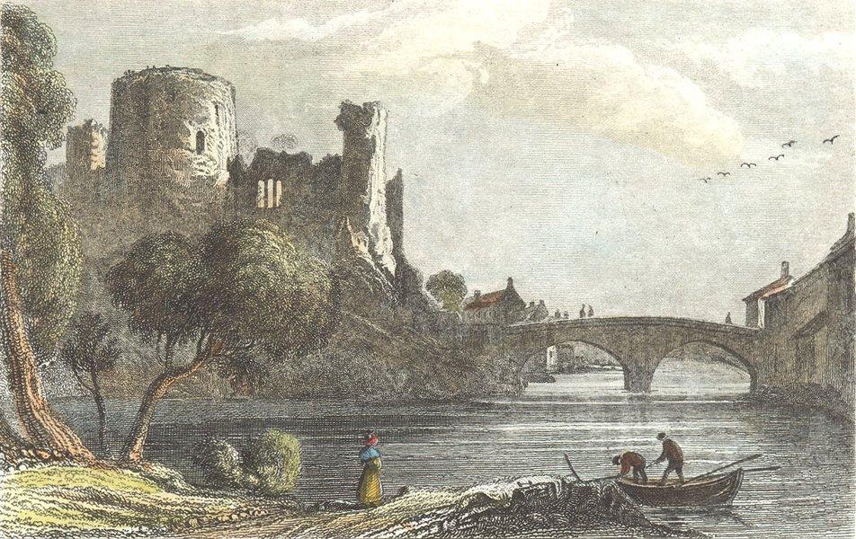 Associate Product DURHAM. Barnard Castle. DUGDALE 1835 old antique vintage print picture