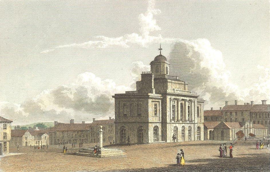 Associate Product DURHAM. Darlington. Westall-Finden 1830 old antique vintage print picture