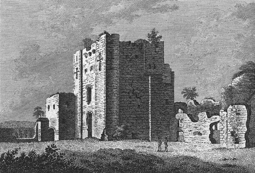 Associate Product WESTMORLAND. Brougham Castle. Grose 1783 old antique vintage print picture