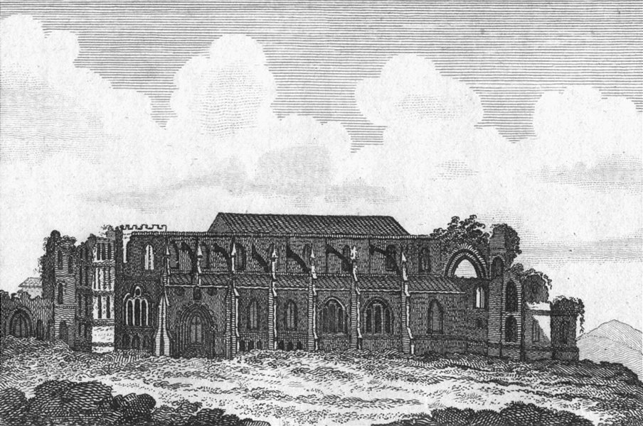 Associate Product WILTS. Malmesbury Abbey. Lackington 1804 old antique vintage print picture