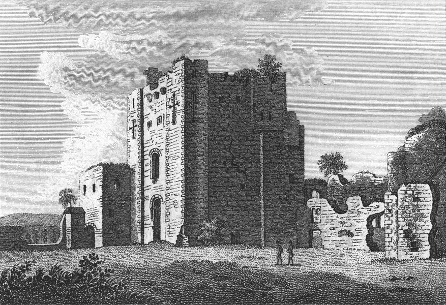 Associate Product WESTMORLAND. Brougham Castle. Grose 1795 old antique vintage print picture