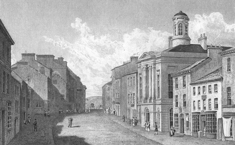 CUMBS. Kendal, Westmorland. Westall 1830 old antique vintage print picture