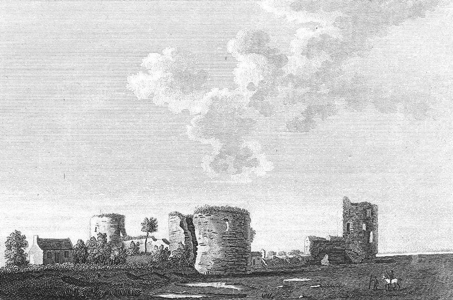 Associate Product WALES. Flint Castle. Grose. 18C-Roberts 1795 old antique vintage print picture