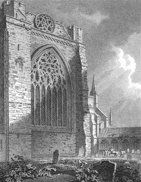 Associate Product SUSSEX. Trancept Chichester Cathedral. Storer 1814 old antique print picture