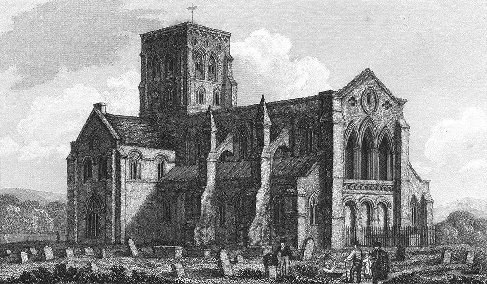 Associate Product SUSSEX. Shoreham Church. Whittock. Churches 1830 old antique print picture