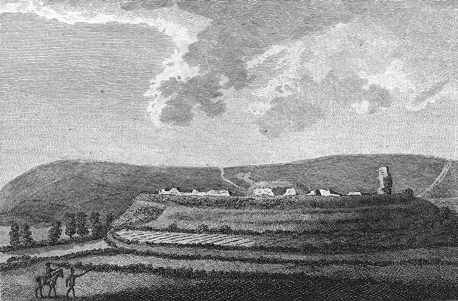 Associate Product SUSSEX. Bramber Castle. Grose 1783 old antique vintage print picture