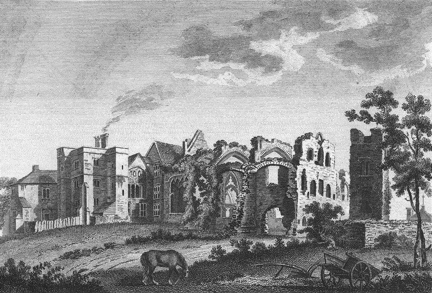 Associate Product SUSSEX. St Dunstans Palace. Grose 1783 old antique vintage print picture