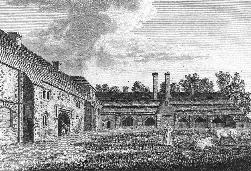 Associate Product SUSSEX. Earls of Arundel. Grose 1783 old antique vintage print picture