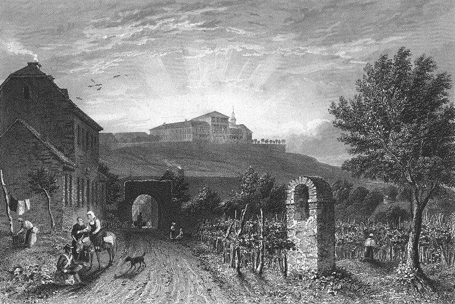 Associate Product GERMANY. Johannesberg. Tombleson Castle 1830 old antique vintage print picture