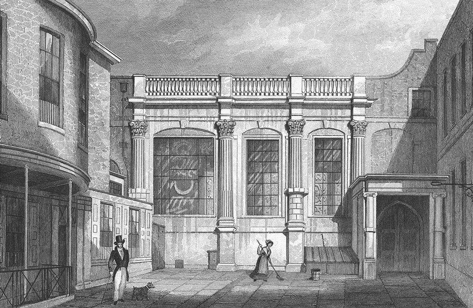 Associate Product LONDON. Clothworker's Hall, Mincing Lane c1830 old antique print picture
